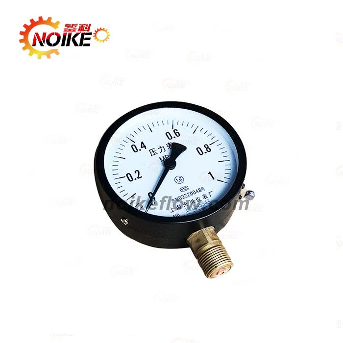 水压表气压表气泵消防压力表Y60